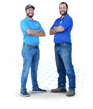 Pro-Tec Plumbing & Drains co-owners and brothers Brandon and Rick Hume